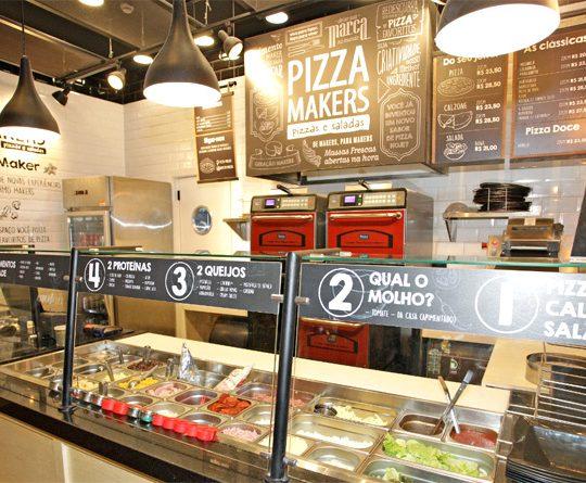 Pizza 100% vegana é novidade no cardápio do Pizza Makers