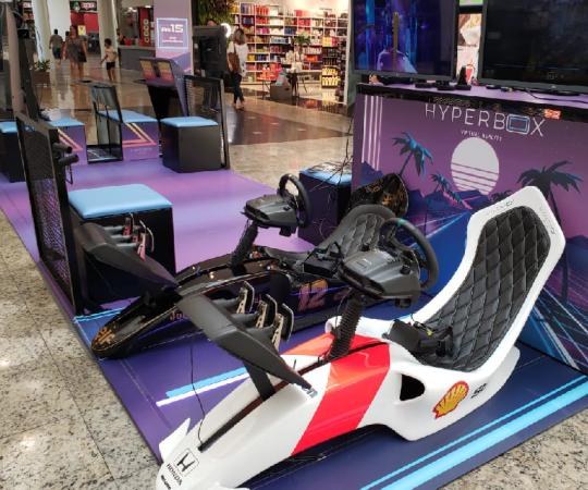 Especialista em games, Hyperbox aposta em franquias para shoppings