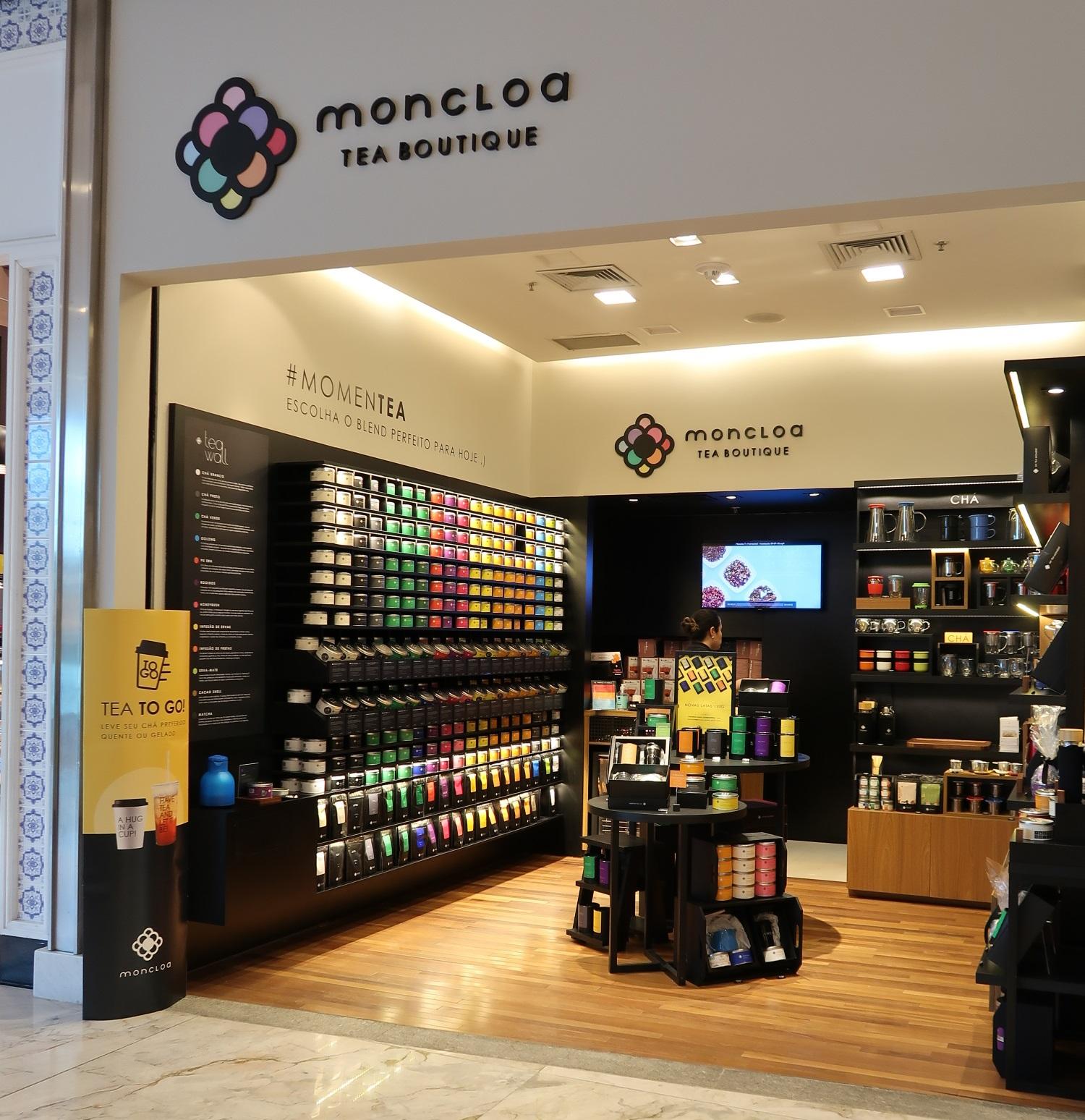 Moncloa Tea Boutique chega a Foz do Iguaçu, Joinville e Londrina